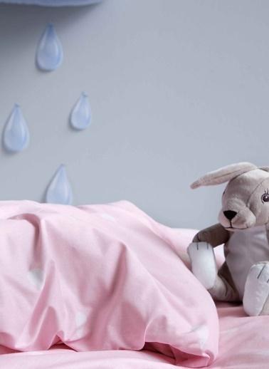 Hibboux Bebek Nevresim+Yastık Kılıfı Pembe